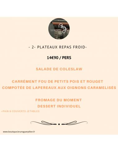 -2- Plateau Repas Froid