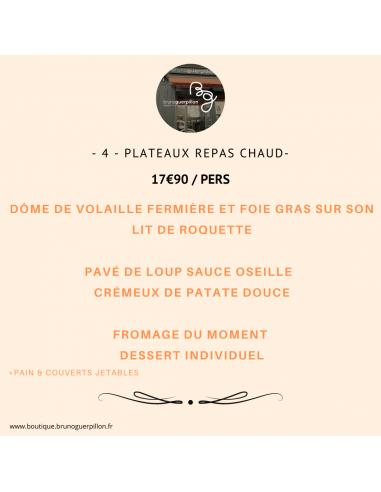 -4- Plateau Repas Chaud